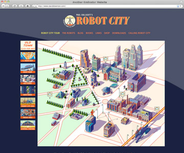 Robot City - Kralinator Web Design