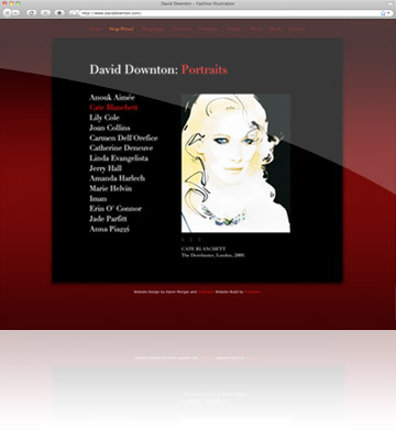Kralinator Web Design - David Downton